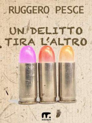 copertina del giallo umoristico con pallottole - rossetto