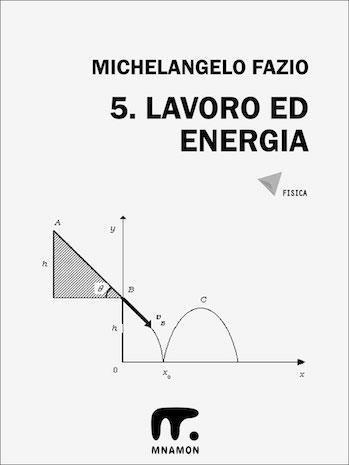 esercizi di fisica sul lavoro ed energia con soluzioni: corpo che cade da piano inclinato