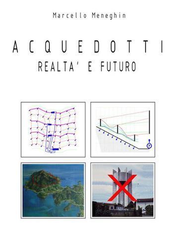 distribuzione dell'acqua nel mondo: in copertina 2 schemi grafici e 2 immagini di impianti