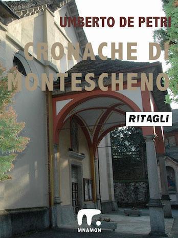 Montescheno, il portico della parrocchiale