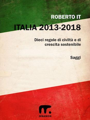 la corruzione in italia: una bandiera italiana un po' sciupata