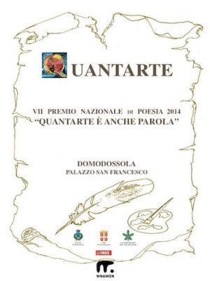 frontespizio concorso poesia quantarte 2014