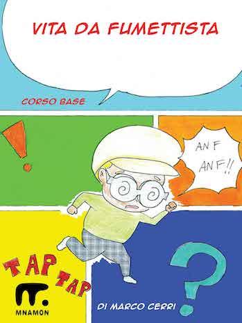 imparare a disegnare manga: colori e ometto che corre