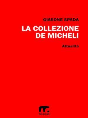 fondo rosso per la copertina di mario de micheli