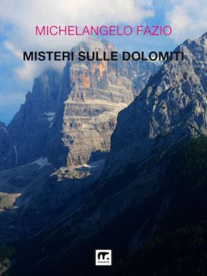 le montagne come copertina dei racconti di misteri sulle dolomiti