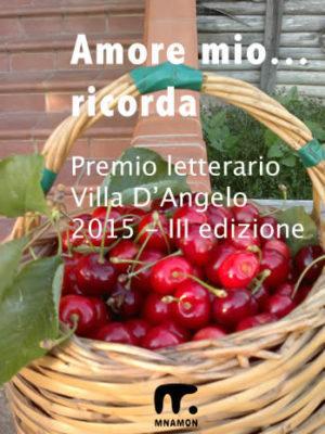 premi letterari in italia, il premio d'angelo con il classico cestino con ciliegie