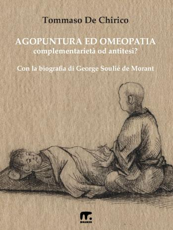 copertina libro sui benefici dell'agopuntura, con medico cinese e paziente