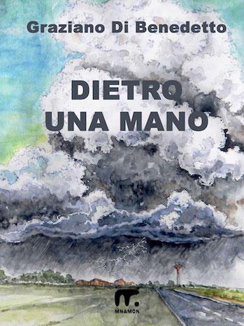 la copertina del libro con nuvle minacciose all'orizzonte