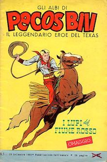 pecos bill a cavallo col lazo