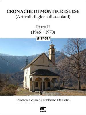 cronache di montecrestese: chiesa in montagna