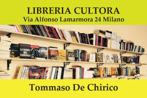 Tommaso De Chirico alla Libreria Cultora di Milano