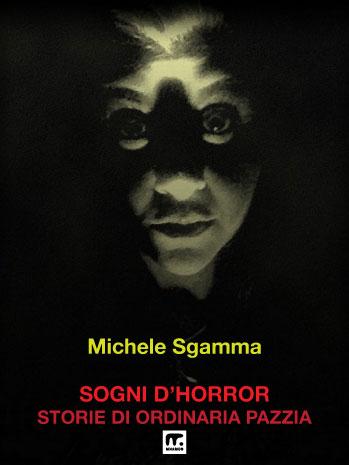 racconti horror: viso trasfigurato con luce sul verde