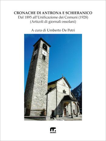 valle antrona in ossola: chiesa con campanile