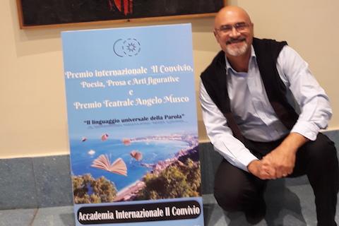 Graziano Di Benedetto premiato a Il Convivio 2017