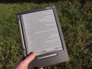 classico lettore di e-book