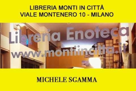 Michele Sgamma alla Libreria Monti in città a Milano