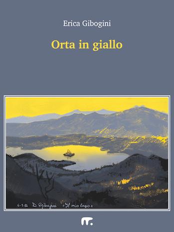 Racconti gialli sul lago: disegno del lago tra le montagne
