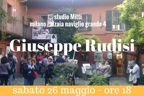 Giuseppe Rudisi sui Navigli a Milano