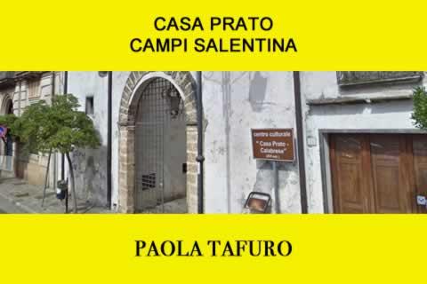 Paola Tafuro a Campi Salentina