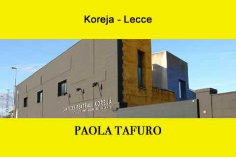 Paola Tafuro a Lecce