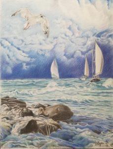 vele sul mare